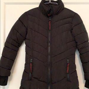 Girls super warm long coat